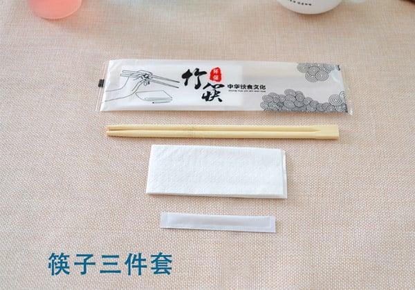 一次性筷子,餐具四件套,定制餐具用品