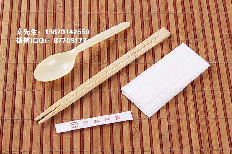 筷子纸巾勺子餐具包,深圳餐具厂家